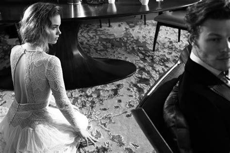 film romance noir lihi hod 2015 bridal gowns polka dot bride