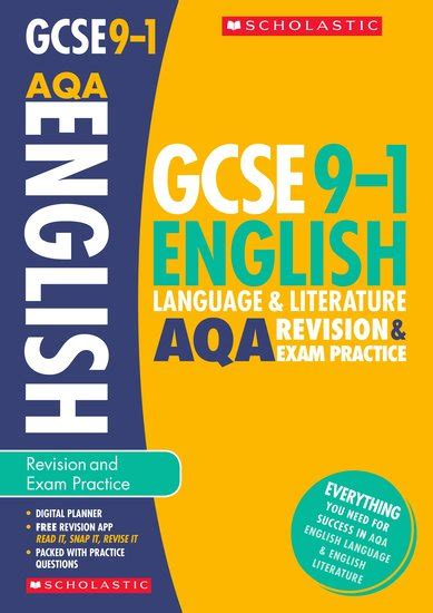 libro aqa year 9 english gcse grades 9 1 english language and literature aqa revision and exam practice book