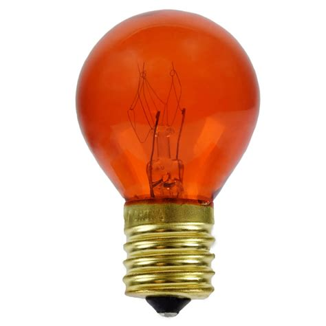 Orange Light Bulb by Orange Replacement Light Bulbs