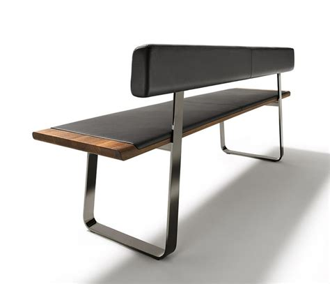 Wood Banquette Bench by Nox Wood And Metal Bench Furniture Design