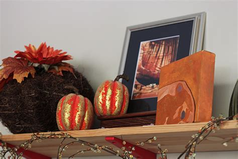 fall mantel makeover being tazim