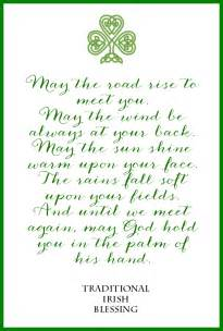 irish blessing free printable on sutton place