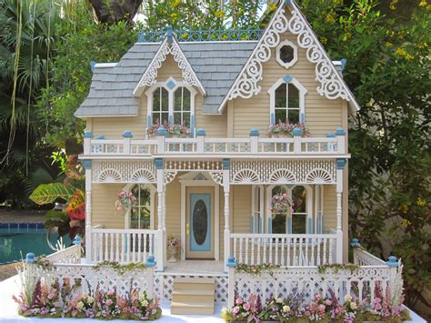 doll house colors dollhouses by robin carey quot the darling house quot victorian