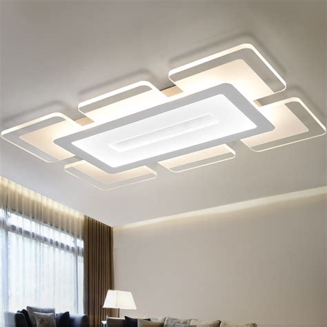 Decorative Ceiling Lights For Living Room Ecolight Modern Led Ceiling Light Living Room Lights