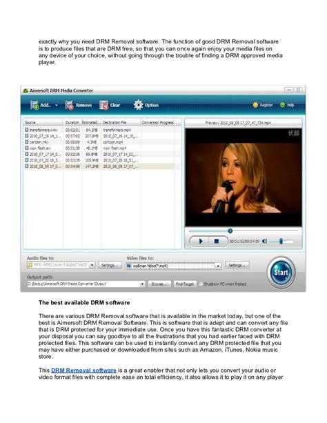 best drm remover what is the best drm removal software for windows