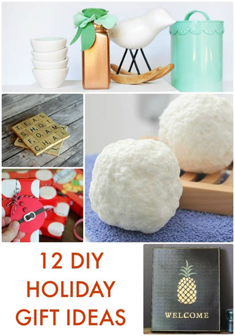 great ideas 12 diy holiday gift ideas