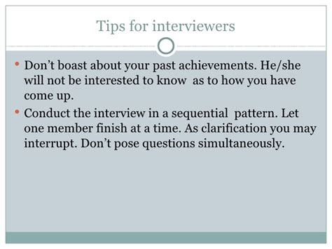 pattern interrupt questions how to conduct interviews