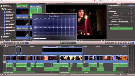 final cut pro voice over tutorial final cut pro x audio final cut pro x advanced