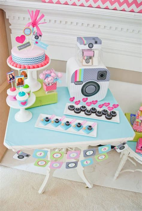 themes for teenage girl parties cute instagram birthday party theme for teen girls