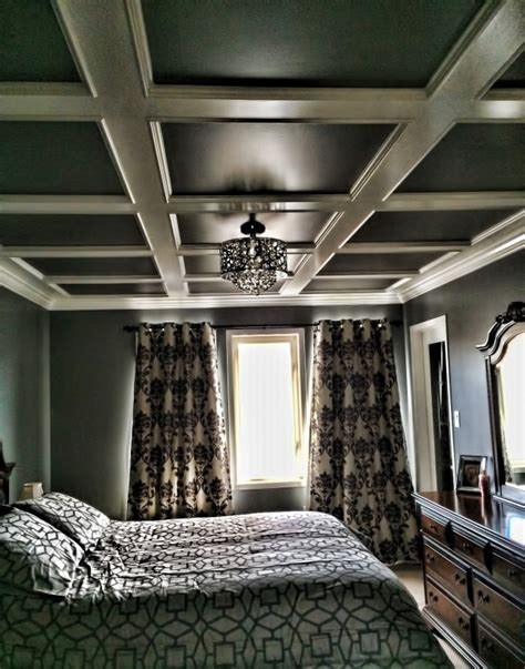 coffered ceiling bedroom bedroom coffered ceiling carpentry picture post