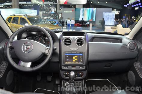 renault duster 2015 interior 2016 dacia duster dashboard at iaa 2015 indian autos blog