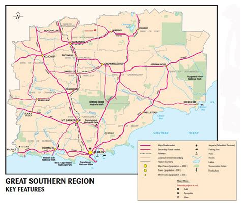 map southern australia opinions on great southern western australia