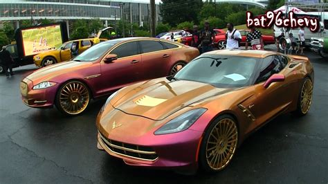corvette stingray gold outrageous pink gold duo jaguar xjl stingray corvette