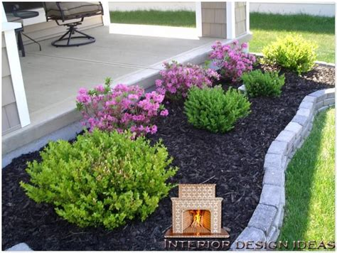 Ideas For My Garden Easy Landscaping Ideas For Front Of House Front Yard Landscaping Easy