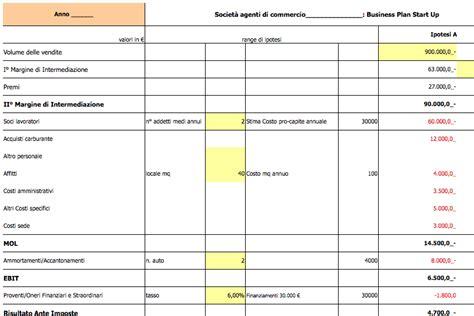 attivitã di commercio calcolo convenienza inizio attivit 224 agente commercio xls