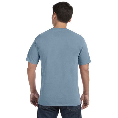 ice blue comfort colors comfort colors men s ice blue 6 1 oz t shirt