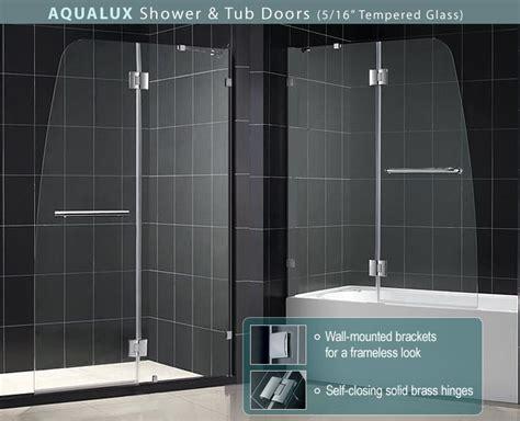 Glass Door For Bathtub by Aqua Tub Door Frosted Glass Bathtub Door Dreamline Frameless Tub Doors