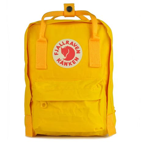 warm yellow fjallraven kanken mini warm yellow my kanken bag