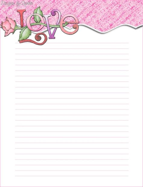 my printable stationary creations sophia designs penpal