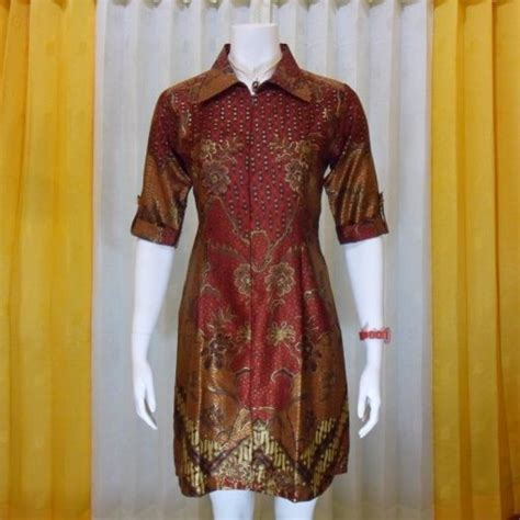 Keynara Top Pakaian Wanita Pakaian Modis Batik 52 best images about model dress batik modern terbaru on models modern and
