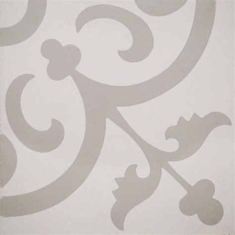 10 X 8 White Ceramic Tile by Indesign Cementine Ashby White 8 In X 8 In Ceramic Floor