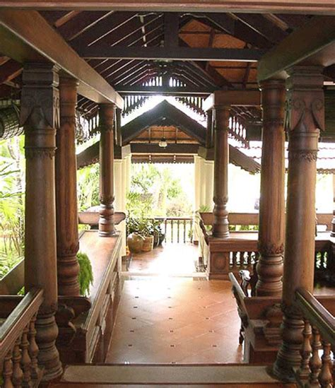 kerala home design veranda traditional kerala architecture designflute
