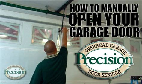How To Open A Garage Door Manually How To Manually Open Your Garage Door Recut On Vimeo