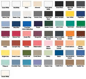 krylon color chart list of krylon colors