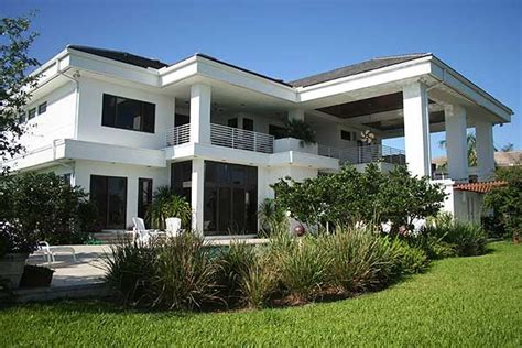 Contemporary Florida Style Home Plans | contemporary florida style home plan