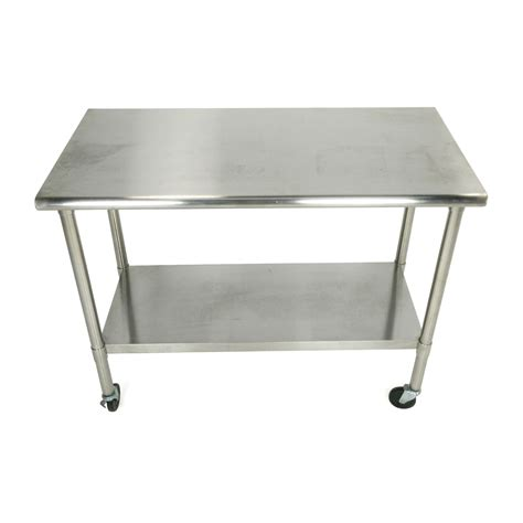 stainless steel shop desk 72 off ikea ikea foldable kitchen table and desk tables