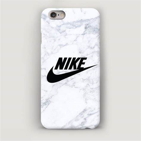 In Nike Iphone 7 white marble cell phone nike iphone cover apple