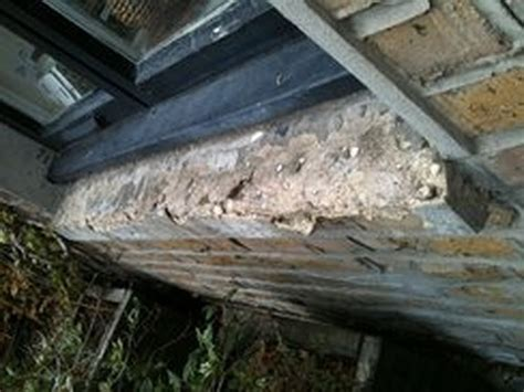 Replace Window Sill Outside Replace 2 Crumbled Concrete Exterior Window Sills