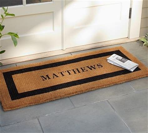 Wide Doormat Personalized Large Doormat 30 X 48 Quot Espresso