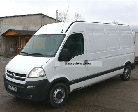 opel movano 2008 opel movano 2008 box type delivery van photo and specs