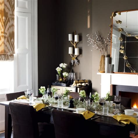 decorate dining room table for christmas 25 stunning dining room decoration ideas