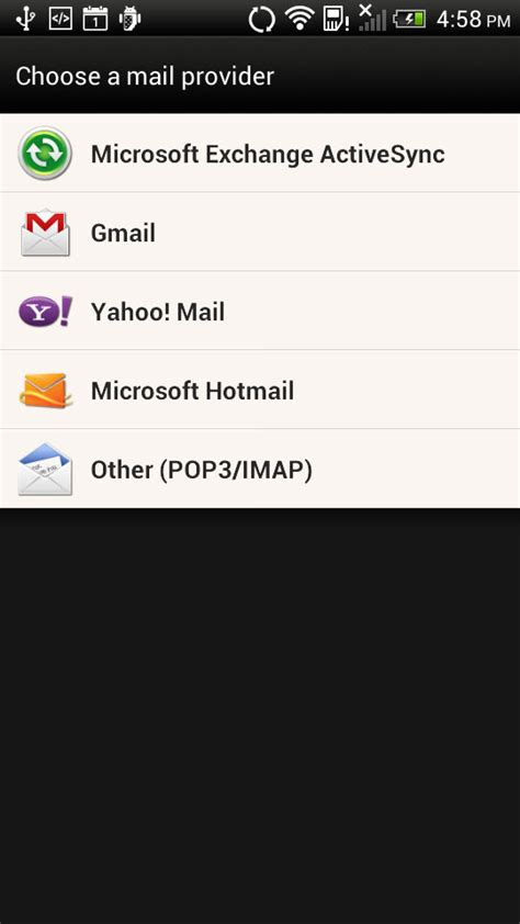 android mail how do i set up a secure imap email account in android knowledgebase namesonic