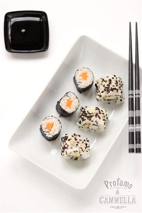 come fare il sushi a casa sushi fatto in casa ricetta ristorante giapponese e