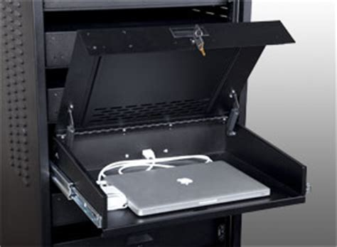 how to secure a laptop to a desk data link associates inc 187 laptop cabinets