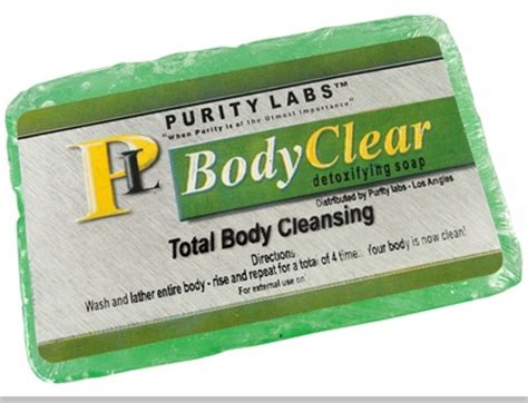 Purity Labs Detox by Purity Labs Clear Detoxifying Soap