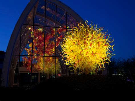 Chihuly Glass And Garden by Dale Chihuly Museum Seattle