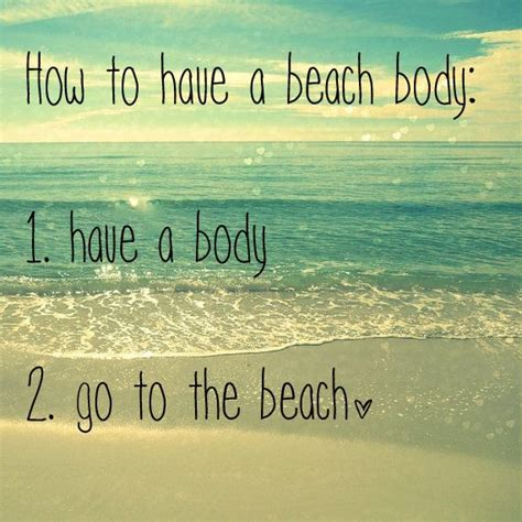 Beach Body Meme - getting a beach body fast tips and tricks