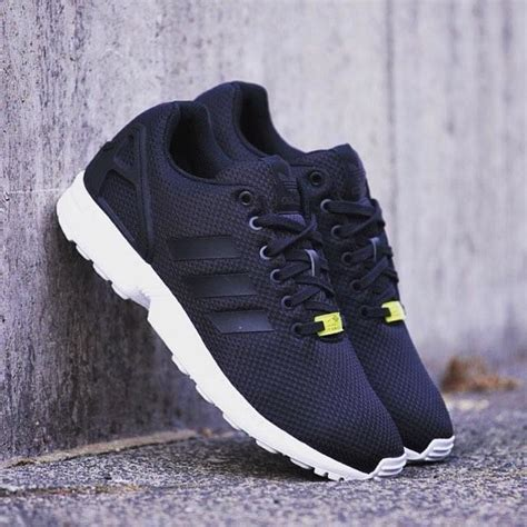 adidas zx flux shoes black adidas uk