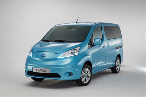 production nissan e nv200 revealed in geneva sales