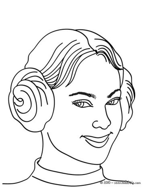 princess head coloring page princess head with macaroon buns coloring pages