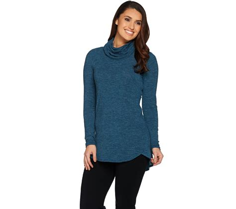 what size dress does lisa rinna wear lisa rinna collection cowl neck sweater tunic with hi low