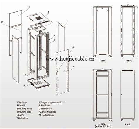 19 Inch Rack Dimensions 42u Network Cabinet   Buy Network