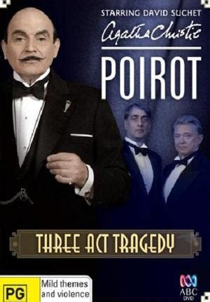 libro three act tragedy poirot agatha christie poirot tragedia en tres actos tv 2010 filmaffinity