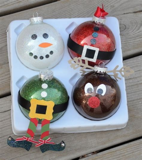 christmas ball art and craft easy crafts for diy projects