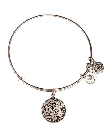 alex and ani bracelet lyst alex and ani my other half expandable wire bangle