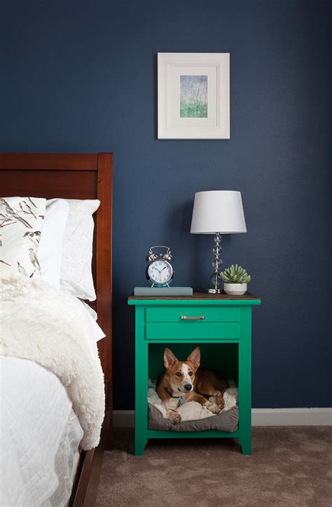 dog bed nightstand upcycled dog bed nightstand wall colors pets and beds